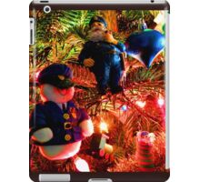 Officers Christmas I iPad Case/Skin