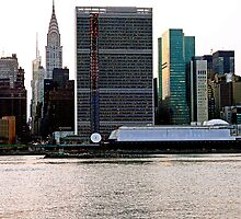 UNITED NATIONS IN THE CITY OF NEW YORK by KENDALL EUTEMEY