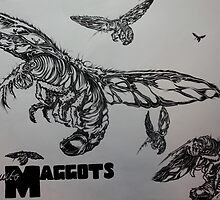 Mosquito Maggots  by MickAnderson