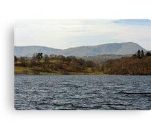 Lake Windermere, Cumbria II Canvas Print