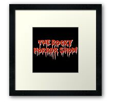 The Rocky Horror Show Framed Print