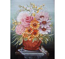 Copper vase Photographic Print