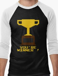 You're Winner 8-Bit Men's Baseball ¾ T-Shirt