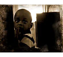 Little Man Photographic Print