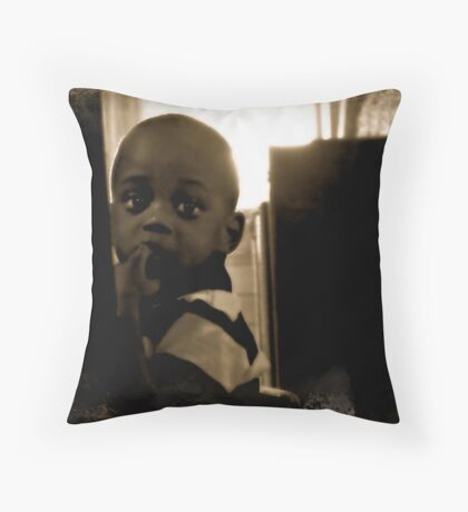 Little Man Throw Pillow