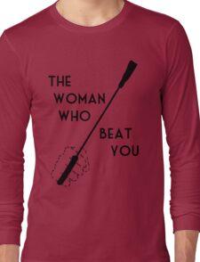 The woman who beat Sherlock Holmes Long Sleeve T-Shirt