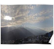 Sunrise At The Sierra Madre I - Amanecer En La Sierra Madre Poster
