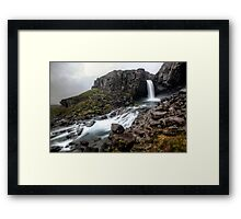 Folaldafoss Framed Print