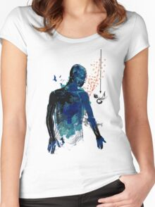 love and gravity version 34217 Women's Fitted Scoop T-Shirt