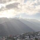 Sunrise At The Sierra Madre II - Amanecer En La Sierra Madre by Bernhard Matejka