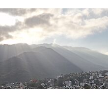 Sunrise At The Sierra Madre II - Amanecer En La Sierra Madre Photographic Print