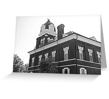 Court House Greeting Card