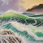 Seascape #3 by Shelley O'Hara Plunkett