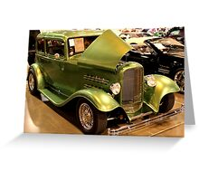 1932 Ford Crown Victoria Street Rod Greeting Card