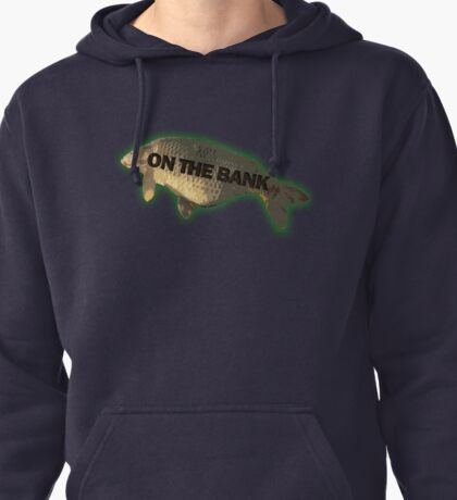 Big fish on the bank!  Pullover Hoodie