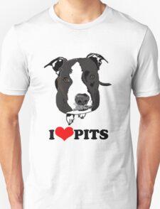 I Love Pit Bulls T-Shirt