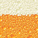Beer Suds 'n' Bubbles Case by JessDesigns