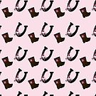 Cowgirl boots and horse shoes Case by JessDesigns
