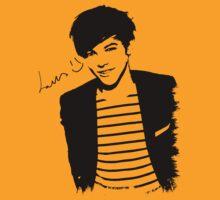 Louis Tomlinson Autographed T-Shirt by kmercury