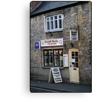 Tea Rooms Canvas Print