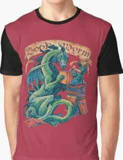 Book Wyrm Graphic T-Shirt