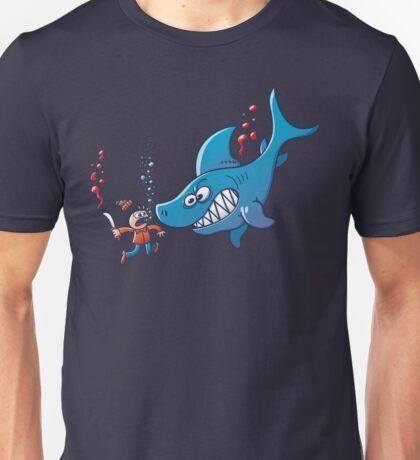Sharks are Furious, Stop Finning! Unisex T-Shirt