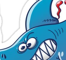 Sharks are Furious, Stop Finning! Sticker