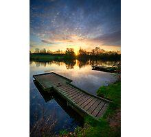 Jetty Sunrise 3.0 Photographic Print