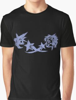 Kingdom Hearts - Sora and Kairi Chalk Drawing Graphic T-Shirt