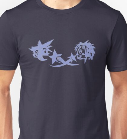 Kingdom Hearts - Sora and Kairi Chalk Drawing Unisex T-Shirt