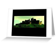 Carreg Cennen Castle / Castell Carreg Cennen Greeting Card
