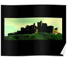 Carreg Cennen Castle / Castell Carreg Cennen Poster