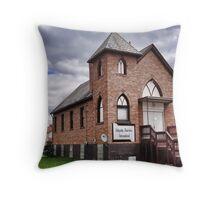 House of Faith Throw Pillow