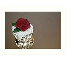 Gritty Cupcake Art Print