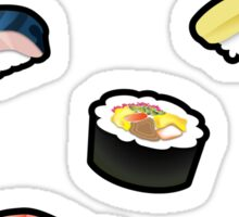 New Sushi Stickers Sticker