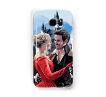 Captain Swan Fairy Tale Watercolor Design 2 Samsung Galaxy Case/Skin