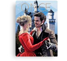 Captain Swan Fairy Tale Watercolor Design 2 Canvas Print