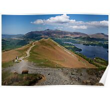 The View from Catbells Poster