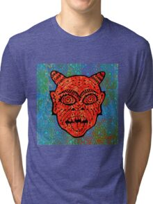 'Handsome Devil Mask #2' Tri-blend T-Shirt