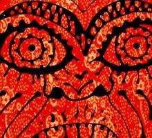'Handsome Devil Mask #2' Sticker