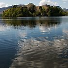 Derwent Water Cloud Reflection by brianhardy247