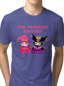 Princess Bunnies  Tri-blend T-Shirt