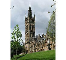 Glasgow Uni Photographic Print