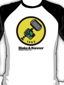Blake & Banner Demolitions Co. (Big Logo) T-Shirt