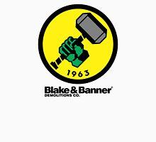 Blake & Banner Demolitions Co. (Big Logo) Men's Baseball ¾ T-Shirt