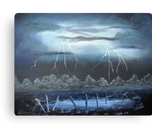 Midnight Storm Canvas Print