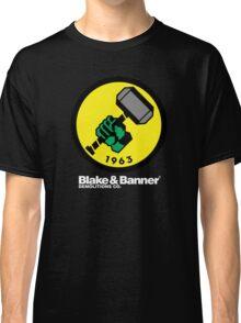 Blake & Banner Demolitions Co. (Big Logo White Text) Classic T-Shirt