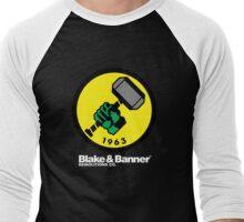 Blake & Banner Demolitions Co. (Big Logo White Text) Men's Baseball ¾ T-Shirt