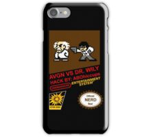 AVGN VS Dr. Wily NES Box Art iPhone Case/Skin