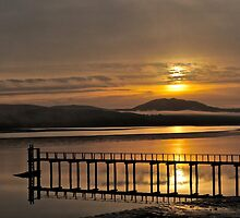 West Marin Sunrise by Scott Johnson